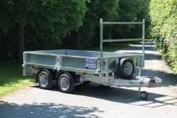 Ifor Williams 10' x5' 6'' LM105 Flatbed Trailer